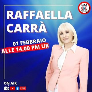 Raffaella Carrà in esclusiva su London ONE Radio