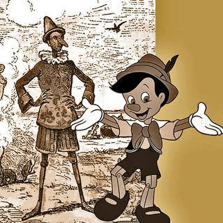 TSP144 - Time Trek: Pinocchio - A tale of two puppets.