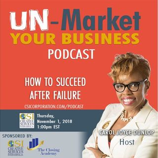 How to Succeed After Failure
