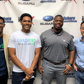 Alex & Louis Grady with Gradyent Brothers, Roy Bean with Burn Boot Camp Suwanee, and James Chao with Chao Financial Planning