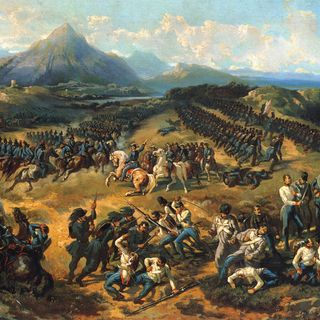 I moti del 1848  e la Prima Guerra d' Indipendenza in Italia