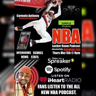 NBA LOCKER ROOM PODCAST WITH BRANDON COX