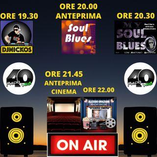 """Radio 40"""" Before the Night """" Giovedi Sera 18/02/2021"""