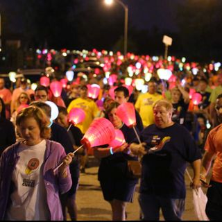 Lighting the Night for LLS Support, Love and a Cure!