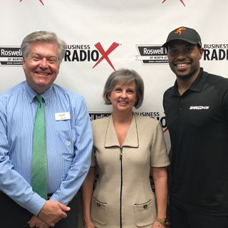 Lydia Hilton, Berman Fink Van Horn, and Ron Cole, Shred 415 Alpharetta