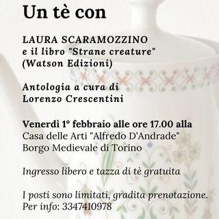 """Quinta puntata Radio Scoiattolo: Laura Scaramozzino presenta l'antologia """"Strane Creature"""""""