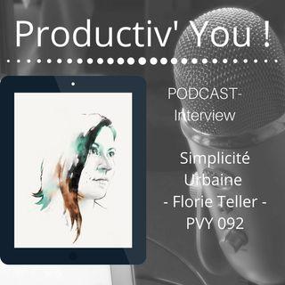 SIMPLICITE URBAINE - PVY092