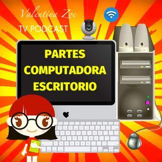 PARTES DE LA COMPUTADORA PARA NIÑOS 💻👩💻 | Computadora de Escritorio y sus Partes 🖲