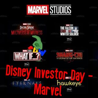 Disney's Investor Day - Marvel