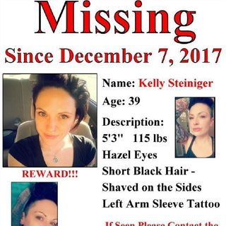 Ep 118 - The disappearance and death of Kelly Steiniger