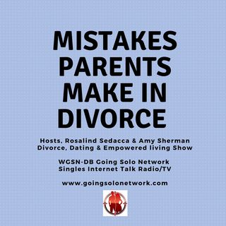 Mistakes Parents Make In Divorce