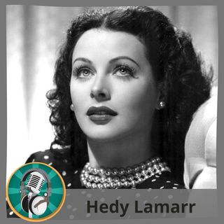 Natalia Chica con Hedy Lamarr