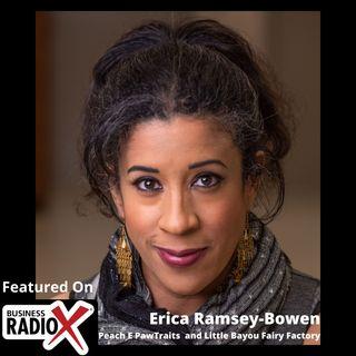 Erica Ramsey-Bowen, Peach E PawTraits and Little Bayou Fairy Factory