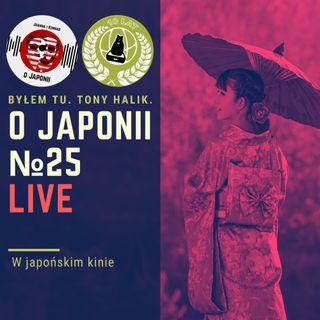 LIVE: W japońskim kinie