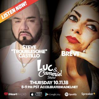 """Accelerated Radio - Steve """"Troublesome Castillo, Brevi and Cali Dro"""