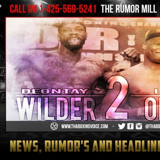 ☎️Deontay Wilder vs Luis Ortiz Date Leaked, WBC Suggesting November 9th😱