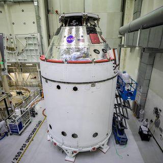 Orion, un altro passo verso la Luna