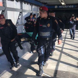 Muere hombre al arrojarse a las vías en Metro General Anaya
