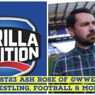 Ash Rose of WWE Gorilla Position Podcast | Wrestling Talk | Keepin It Real Extra