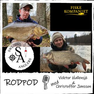Swedish Anglers RodPod avsnitt 24 med Vicktor Hallensjö & Christoffer Jansson