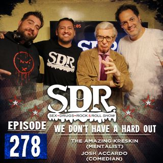 The Amazing Kreskin & Josh Accardo (Mentalist & Comedian) - We Don't Have A Hard Out
