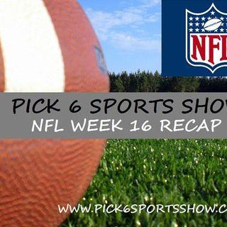 NFL Week 16 Recap Show & Power Rankings