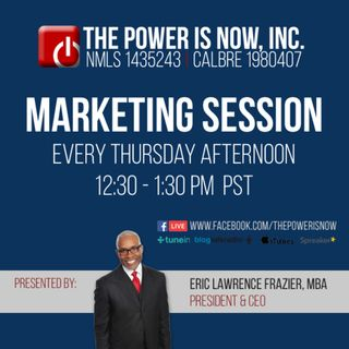 The Power Is Now Marketing Session