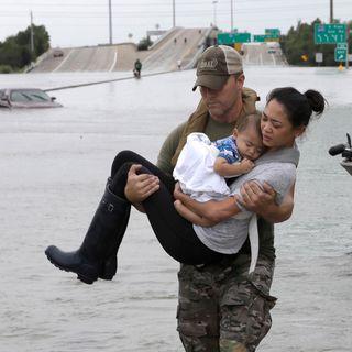 Hurricane Harvey Hits Houston