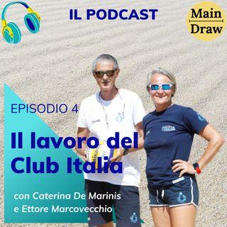 Il lavoro del Club Italia