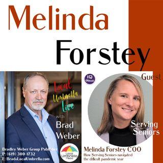 Melinda Forstey on Local Umbrella Media LIVE with Brad Weber Ep 298