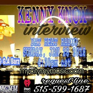 DAT HEAT RADIO  KENNY KNOX EDITION PLUS WE GOT ROB BOO DOING FEMFEST 4 PROMO