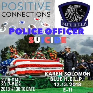 Police SUICIDE: Lets Not Talk About That: Karen Solomon and Blue H.E.L.P.
