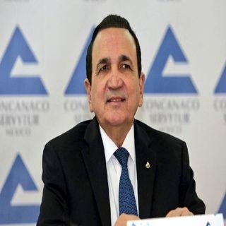 El presidente de la Concanaco-Servytur, José Manuel López Campos, destacó la flexibilidad y apertura del Ejecutivo federa
