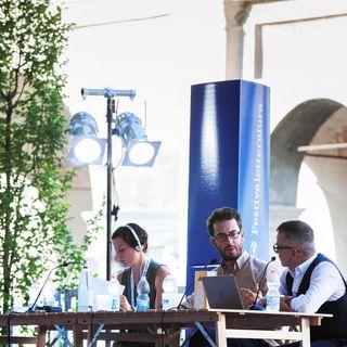 Jonathan Safran Foer con Marcello Fois