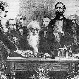O Telégrafo, inventado por Samuel Morse