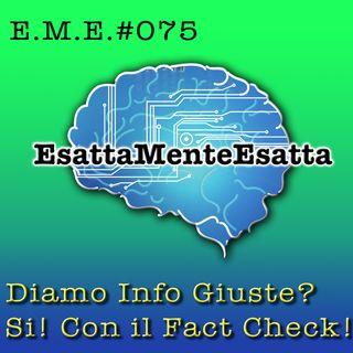 P.75 Le informazioni corrette