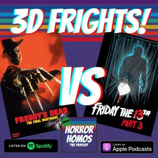 3D Frights! Freddy's Dead (1991) VS Friday the 13th Part 3 (1982)