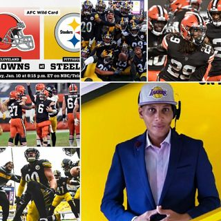 Episode 4|#AFC DIVISIONAL WILCARD GAME |#Browns Vs #Steelers| ●Live Play By Play Coverage W/ #RealSportsTimewDMarl