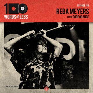 Reba Meyers from Code Orange & Adventures