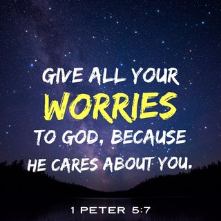 God Does Not Want You to Worry, Because He Knows What You Need