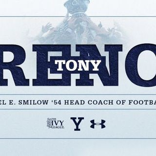 Yale Football Coach Tony Reno