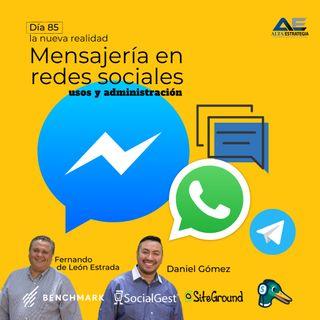 Mensajería en redes sociales _  Usos y administración