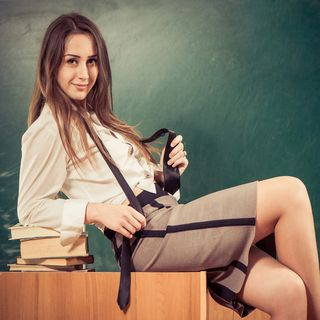 PATRONS: A Little Prick, a Naughty Teacher and a Shoplifting Confession