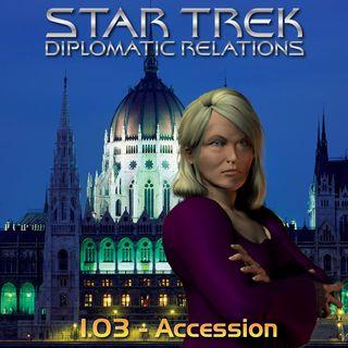 "DR 1.03 - ""Accession"""