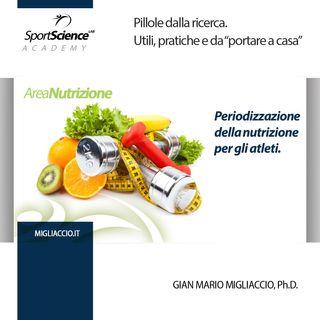 Periodizzazione della nutrizione