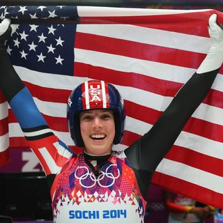 The Olympic Show:Luge Erin Hamlin First American Singles Medal Winner