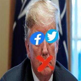 Twitter e Facebook sbugiardano Trump