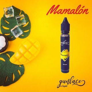 GUNFACE Eliquid  Mamalón (Revisión VAPEO)