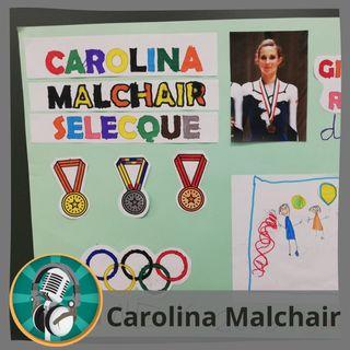 Patricia Ruiz-Roso con Carolina Malchair
