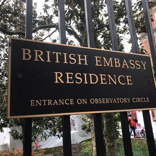 Trade Talks, Policing Facebook, and British Embassy
